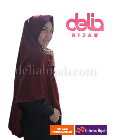 khimar nibras hijab angel khimar NB 4 maroon