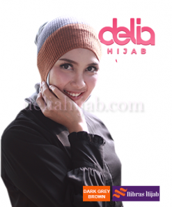 ciput basic nibras twotone dark grey brown