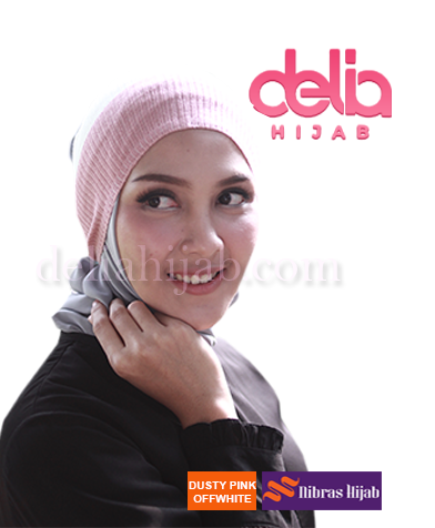 ciput basic nibras twotone dusty pink offwhite