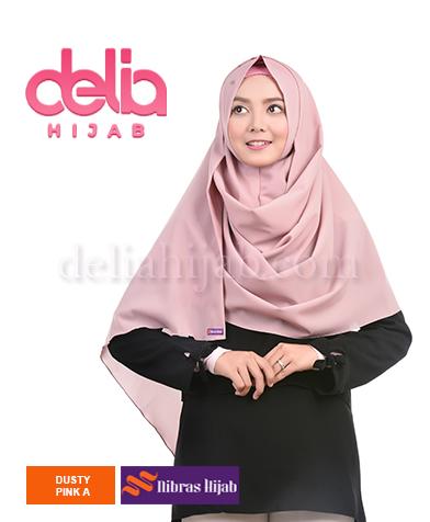 khimar nibras hijab emerald one m syria dusty pink