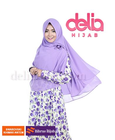 khimar nibras hijab swarovski antem lavender