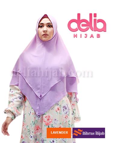 khimar nibras hijab raflesia lavender