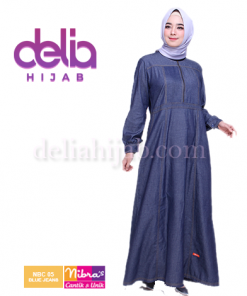 gamis nibras nbc 05 blue jeans