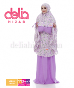 mukena nibra nm 06 ungu