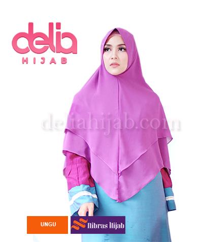 khimar nibras hijab mozaik syria ungu