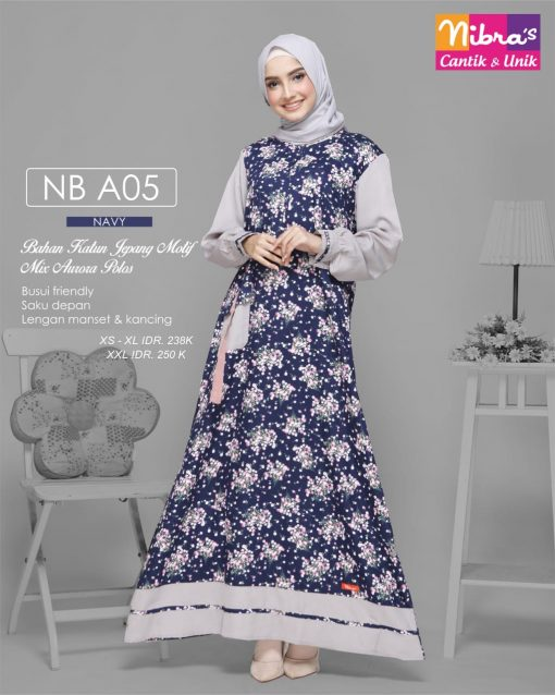 GAMIS NIBRAS NB A05 NAVY