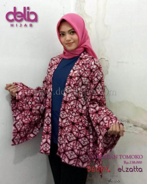 Baju Muslim Casual - Cardigan Tomoko - Dauky