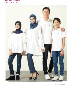 Baju Muslim Casual Anak - Sarimbit Hauva Girl - Elzatta Hijab