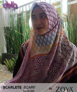 scarlet scarf - kerudung casual zoya - delia hijab