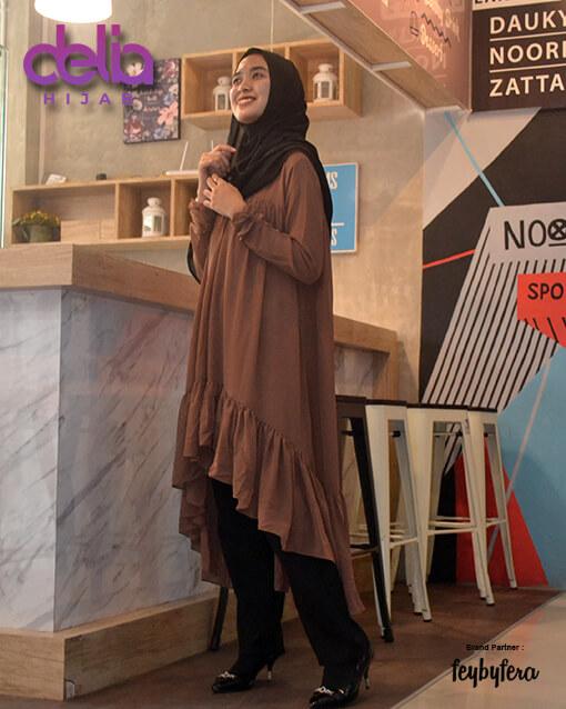 Tunik Terbaru - Delia Hijab - Naisha Tunic FeyByFera