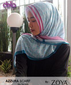azzura scarf - kerudung motf simple zoya delia hijab