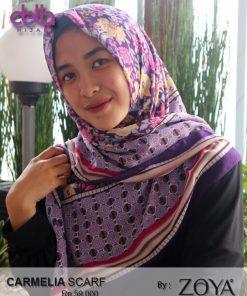 carmelia scarf - hijab casual zoya - delia hijab