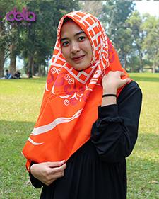 kerudung motif simple delia hijab