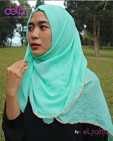 kerudung polos pashmina elzatta tosca - delia hijab