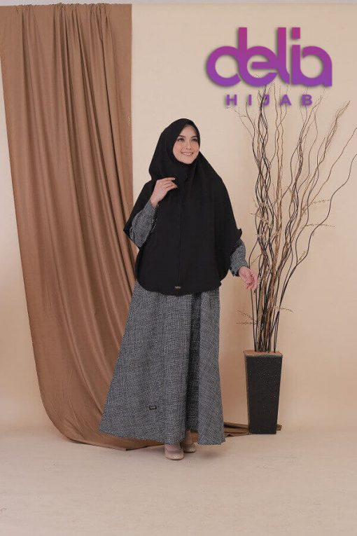 Gamis Kombinasi - Delia Hijab - Haihai GM 55