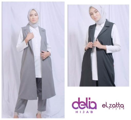 Rompi Muslimah - Delia Hijab - Elzatta Adzria Vest