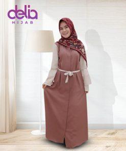 Baju Gamis Modern Terbaru 2020 Delia Hijab 2
