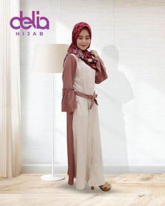 Baju Gamis Modern Terbaru 2020 Delia Hijab