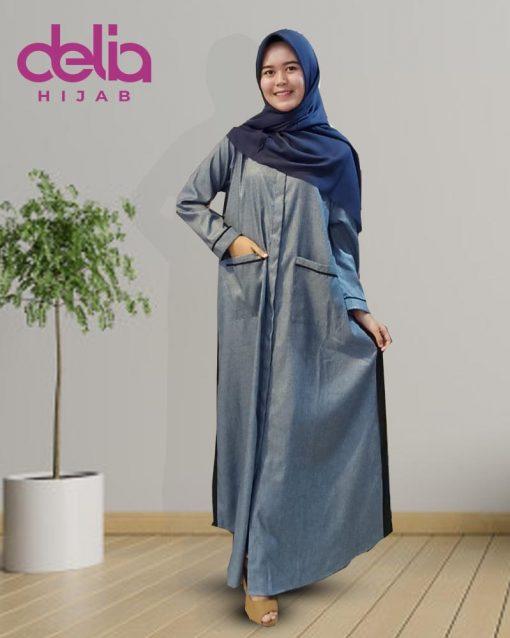 Baju Gamis Terbaru 2020 - Clarisa Dress - Delia Hijab