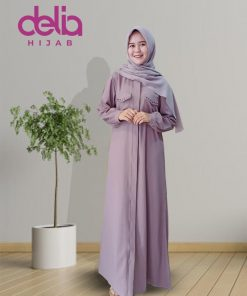 Model Gamis Terbaru 2020 - Natalia Dress - Delia Hijab - M