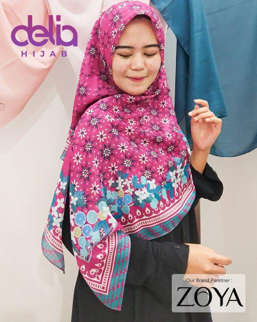 Delia Hijab - Kerudung Motif Zoya - 1