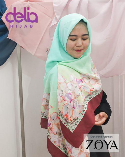 Delia Hijab - Kerudung Motif Zoya - 4