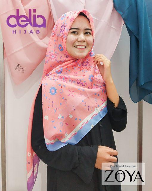 Delia Hijab - Kerudung Motif Zoya - 5