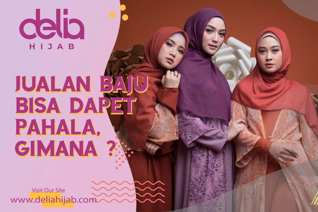 Bisnis Tanpa Modal Reseller Baju Gamis Modern Delia Hijab