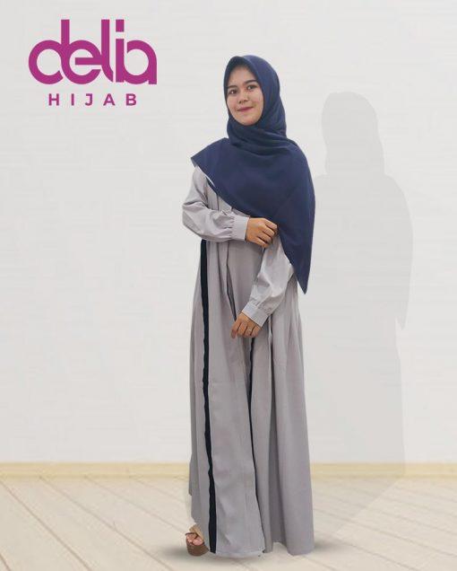 Della Dress - Baju Muslim Casual - Baju Gamis Modern - Baju Gamis Murah dan Cantik - Baju Gamis Model Sekarang - Delia Hijab Sukabumi - G