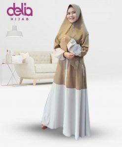 Gamis Syari Modis - Baju Gamis Murah dan Cantik - Baju Gamis Model Sekarang - Syari Set Delia Hijab Sukabumi - C
