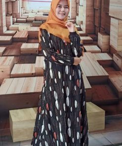 Zoya Dress - Fayola Dress - Delia Hijab B