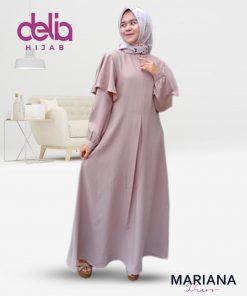 Delia Hijab Sukabumi – Baju Muslim Casual – Baju Muslim Sukabumi – Baju Gamis Modern – Baju Gamis Model Sekarang – Gamis Syari Modis – Baju Gamis Murah dan Cantik - Mariana Dress - P