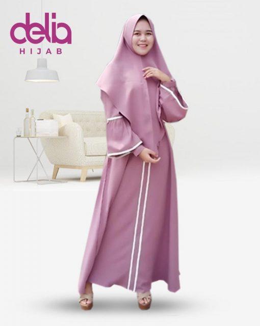 Delia Hijab Sukabumi – Baju Muslim Casual – Baju Muslim Sukabumi – Baju Gamis Modern – Baju Gamis Model Sekarang – Gamis Syari Modis – Baju Gamis Murah dan Cantik - Nindita Dress - P