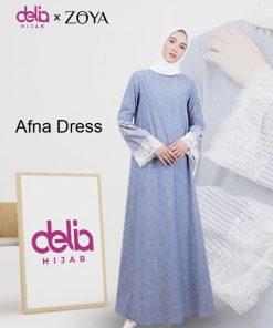 Delia Hijab Sukabumi – Baju Muslim Sukabumi – Baju Gamis Modern – Baju Gamis Model Sekarang – Gamis Syari Modis – Baju Gamis Murah dan Cantik - Afna Dress - Zoya Dress