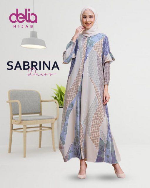 Delia Hijab Sukabumi – Baju Muslim Sukabumi – Baju Gamis Modern – Baju Gamis Model Sekarang – Gamis Syari Modis – Baju Gamis Murah dan Cantik - Sabrina Dress 1