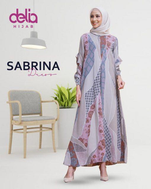 Delia Hijab Sukabumi – Baju Muslim Sukabumi – Baju Gamis Modern – Baju Gamis Model Sekarang – Gamis Syari Modis – Baju Gamis Murah dan Cantik - Sabrina Dress 2