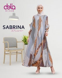 Delia Hijab Sukabumi – Baju Muslim Sukabumi – Baju Gamis Modern – Baju Gamis Model Sekarang – Gamis Syari Modis – Baju Gamis Murah dan Cantik - Sabrina Dress 3