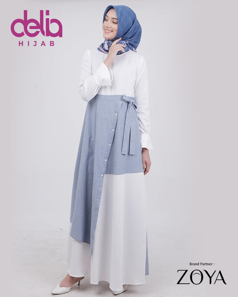 Zoya Dress - Asywara Dress - Delia Hijab