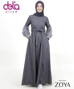 Delia Hijab Sukabumi – Baju Muslim Sukabumi – Baju Gamis Modern – Baju Gamis Model Sekarang – Gamis Syari Modis – Baju Gamis Murah dan Cantik - Zoya Dress - Lesa Dress 499 1