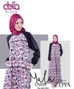 Delia Hijab Sukabumi – Baju Muslim Sukabumi – Baju Gamis Modern – Baju Gamis Model Sekarang – Gamis Syari Modis – Baju Gamis Murah dan Cantik - Zoya Dress - Mala Dress 449