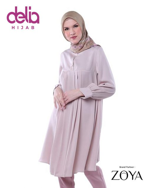 Delia Hijab Sukabumi – Baju Muslim Sukabumi – Baju Gamis Modern – Baju Gamis Model Sekarang – Gamis Syari Modis – Baju Gamis Murah dan Cantik - Zoya Dress - Namara Tunic 259 1