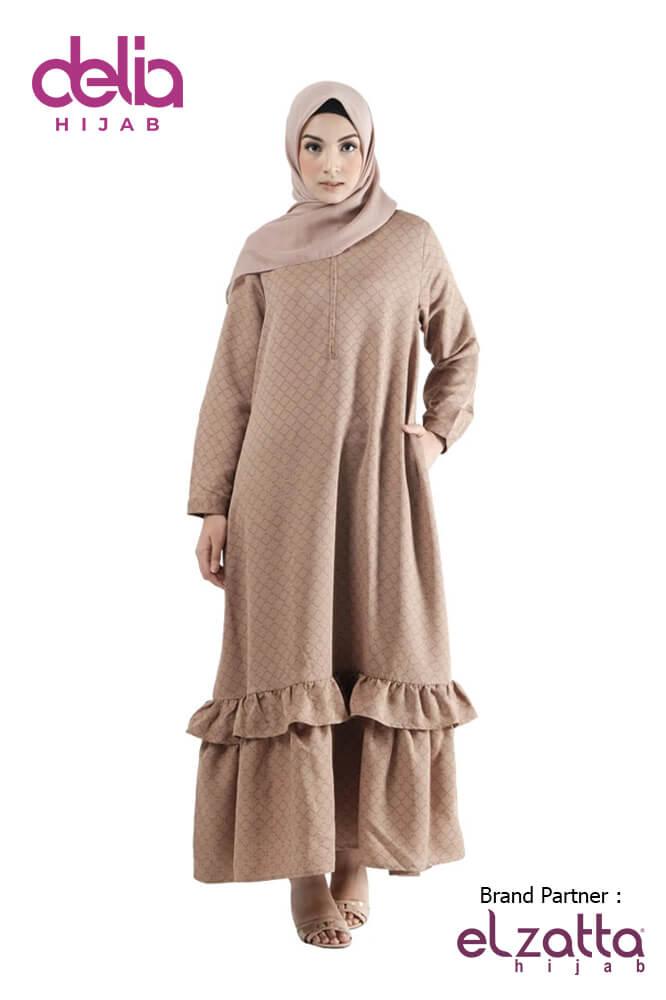 Baju Gamis Lebaran – Gamis Elzatta Sarimbit Azia Wom