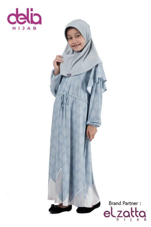 Baju Lebaran 2020 Terbaru - Baju Gamis Anak Elzatta Sarimbit Kiana Girl