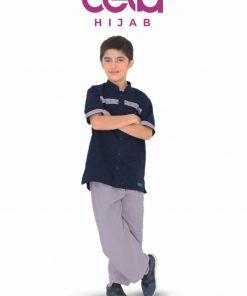 Baju Lebaran Anak - Sarimbit Nibras 67 - Koko Anak NSAL 67
