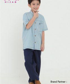 Baju Lebaran Anak Terbaru 2020 – Sarimbit Nibras 65 – Koko Anak NSAL 65 B