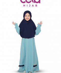 Baju Lebaran Anak Terbaru - Sarimbit Nibras 69 - Gamis Anak NSAP 69