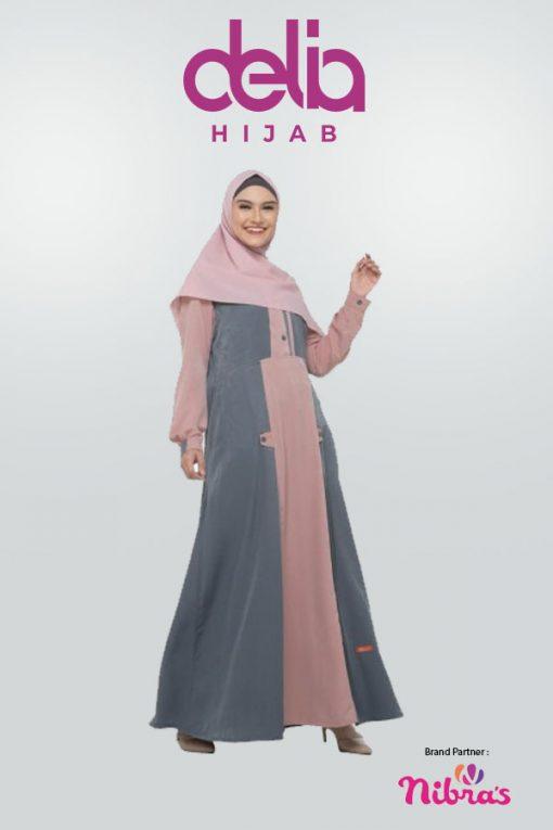 Baju Lebaran Keluarga - Sarimbit Nibras 70 Gamis NB A40