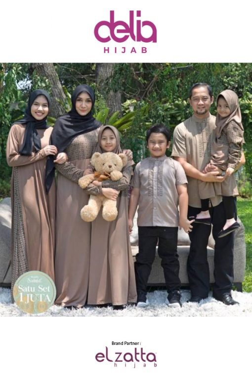 Baju Sarimbit Lebaran Terbaru 2020 - Elzatta Sarimbit Keluarga Sarimbit Tidzani