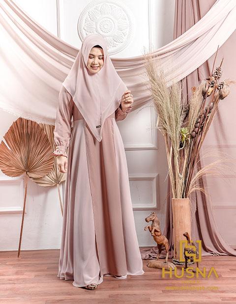 Delia Hijab Sukabumi – Husna Ramadhan – Baju Gamis Brokat Terbaru – Baju Gamis Pesta Mewah – Baju Gamis Terbaru Lebaran 2020 – Baju Gamis Modern