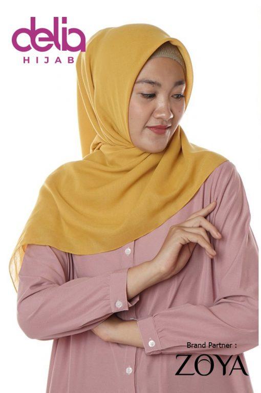 Kerudung Zoya Terbaru 2020 - Zoya Fashion Muslim - Andara Plain Scarf